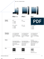Apple — iPad — Compare iPad models