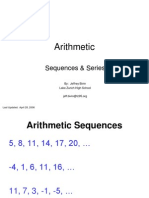 Arithmetic Sequence Series