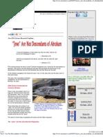 _Jews_ Are Not Descendants of Abraham