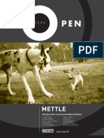 "NZX Open Magazine, Issue Two 2005 - ""Mettle"""