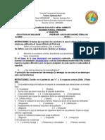 Examen Ecologia. Segundo Parcial 2012-2013b Contestado
