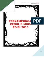KoAkademik Bahasa Melayu Men 2013 Perkampungan Penulis Muda
