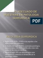 MANEJO ADECUADO DE MUESTRAS EN PATOLOGIA QUIRURGICA.pptx