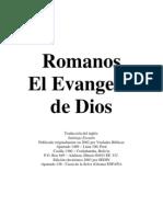 Romanos El Evangelio de Dios
