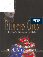 Metin Aydoğan - Bitmeyen Oyun