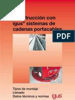 IGUS Cap 1_1 Construcción cadenas portacables