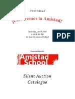 Celebremos la Amistad - Catalogue