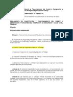 R M  Nº 148-2007-TR  Constitución y Funcionamiento del Comité
