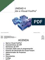 Unidad IV - 1 - Introduccion a VFP y El Entorno de Desarrollo