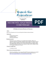 Protocolo Neumonia 2011