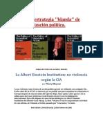 """La nueva estrategia """"blanda"""" de desestabilización política- Thierry Meyssan"""