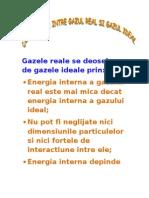 Comparatie Intre Gazul Real Si Gazul Ideal