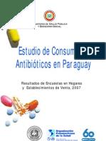 Consumo de Antibioticos en Paraguay