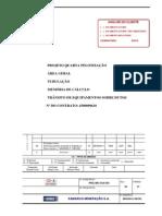 1-M030400-G-1MC302 - MEMÓRIA DE CÁLCULO PARA TRÂNSITO DE EQUIPAMENTOS SOBRE DUTOS