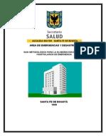 Guia Plan Hospitalario de Emergencias