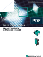 Pepperl&Fuchs - Product Overview Ultrasonic Sensors