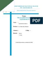 LAB - Tratamiento de Datos Experimentales