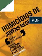 Homicídios de jovens negros - análise de contexto