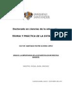 ENSAYO ESADÍSTICA.doc