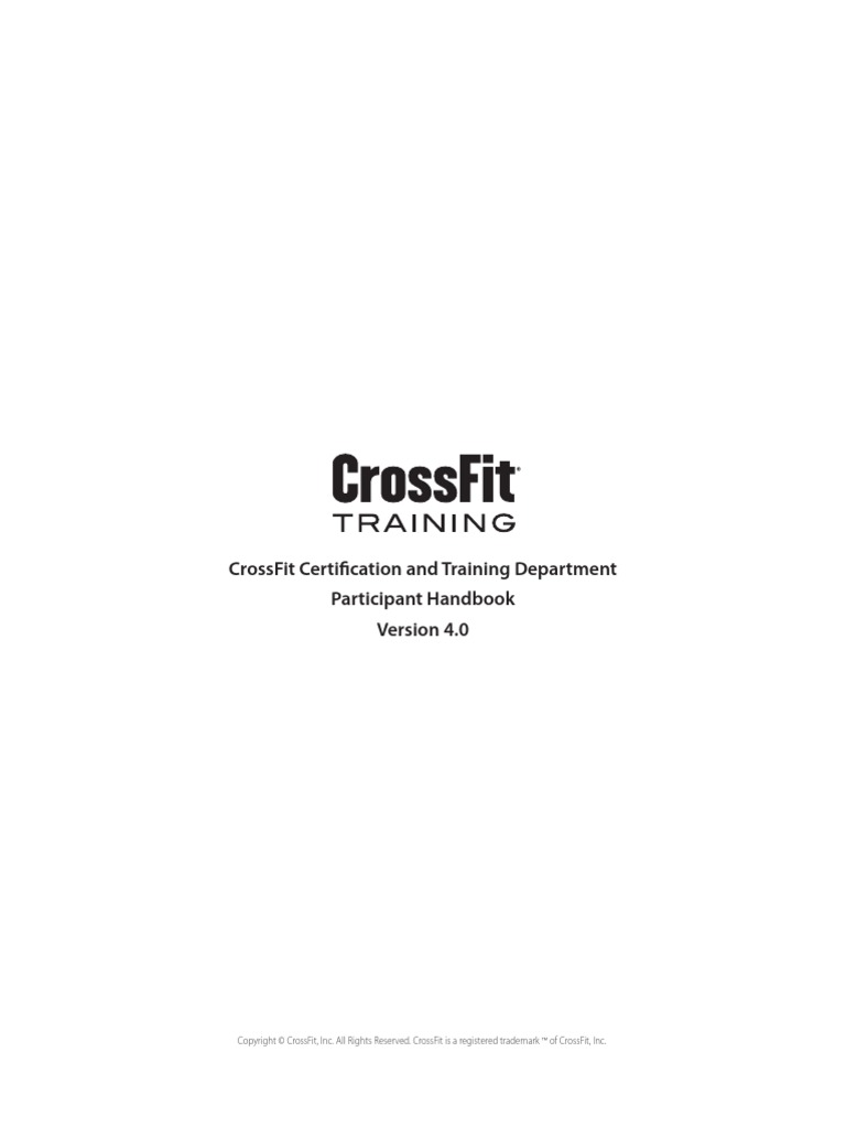 Cf l1 study guide array crossfit level 1 handbook physical fitness test assessment rh scribd fandeluxe