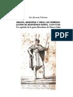 Guzman Palomino, Luis - Bolivia Argentina Y Chile Resistencia Nativa (1535 36)