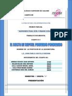 Costo de Capital Promedio Ponderado y Presupuesto de Capital[1]