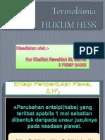 Hukum Hess Ppt