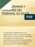 Organigramas y Funciones Del Personal