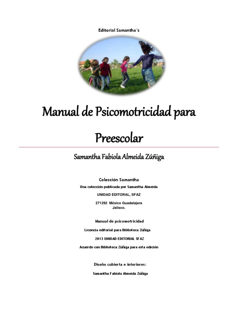 manual de psicomotricidad