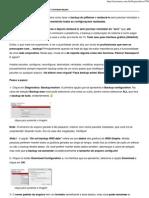 Fazer o backup do pfSense e restauração