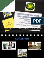 EXPOSICIÓN FINAL-ADHESIVOS Y FORMAS DE ADHERENCIA