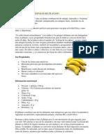 Propiedades y Ventajas Del Platano