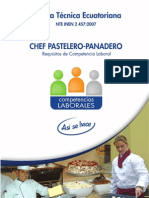 Chef Pastelero - Panadero