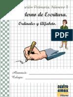 13Cuaderno+de+Escritura.+Ordinales+y+Alfabeto
