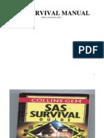 SAS Survival Guide - Ghid de supravietuire al Fortelor Aeriene Americane