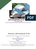 Manual Opti Master 310