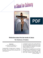 Reflections on the last words of Jesus, testimony of Catalina, visionary