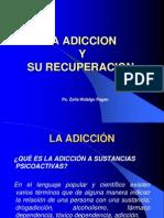 La Adiccion y Su Recuperacion - Ps. Zoila Hidalgo Pagan