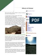 Effect of Desert
