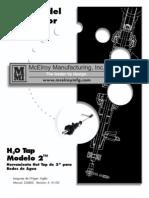 Manual de Operador Hot Tap