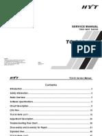 Hyt Tc-518 Service Manual