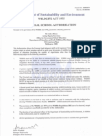 General School Authorisation for Government Schools 10006079