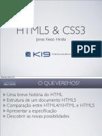 HTML5 & CSS3