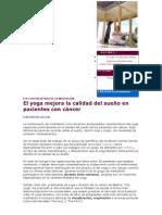 EFECTOS PALIATIVOS DE LA MEDITACIÓN