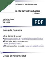 TV Alta Definicion STDV y HDTV