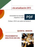 Curso de actualización Auditoría Sesión 5