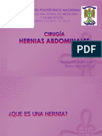 Hernias de Pared Abdominal