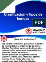 Clasificacion y Tipos de Heridas