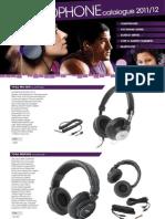 WES Headphone Catalogue 2011 NP