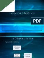 Los Generos y Subgeneros Literarios